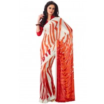 Paaneri Multicolor Georgette Saree -Product Code-16120406306