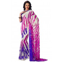Paaneri Designer Multicolor Georgette Saree-Product Code-16120406406