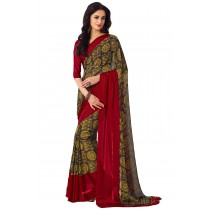 Paaneri Multicolor Georgette Saree-Product Code-16120406606