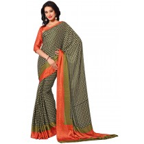 Paaneri Multicolor Satin Printed Saree-Product Code-16120407706