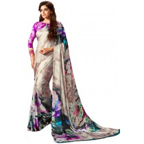 Paaneri Multi Color Georgette Saree Product Code-16120501907